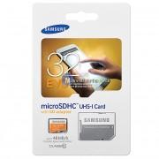 Card memorie Samsung EVO MicroSDHC 32GB Clasa 10 Blister
