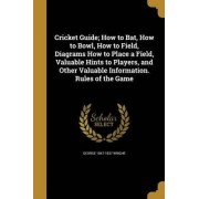 Cricket Guide; How to Bat, How to Bowl, How to Field, Diagrams How to Place a Field, Valuable Hints to Players, and Other Valuable Information. Rules of the Game by George 1847-1937 Wright