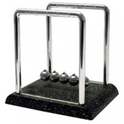 Newton's Cradle w/Marble Look Base
