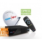 Tata Sky HD connection With BOX and Anteena with actiavtion and Delivery