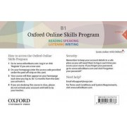 Oxford Online Skills Program: B1,: General English Bundle 1 - Card with Access Code
