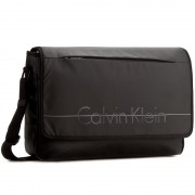 Чанта за лаптоп CALVIN KLEIN BLACK LABEL - Logan 2.0 Messenger With Flap K50K502040 001