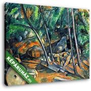 Paul Cézanne: Malomkő (30x25 cm, Vászonkép )