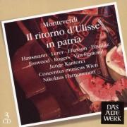 C. Monteverdi - Il Ritorno D'ulisse (0825646961429) (3 CD)