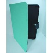 Husa tip carte Mercury Goospery Fancy Diary verde deschis + bleumarin pentru tableta Samsung Galaxy Tab S 10.5 (SM-T800), Tab S 10.5 LTE (SM-T805)