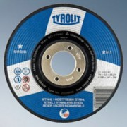 Brusna ploča 125x6 čelik/inox BASIC (10kom) TYROLIT