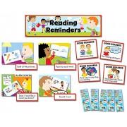 Creative Teaching Prensa CTP3795 Reading Recordatorios Mini Bulletin Board Set