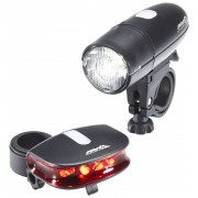 Red Cycling Products Bright LED Light Set faretti nero Set faretti a batteria