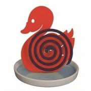 Porta zampirone paperella rosso (piattino)