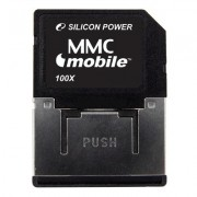 MMC SILICONE POWER; model: SP512MB; capacitate: 512 MB; culoare: NEGRU