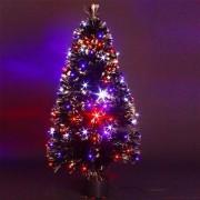 Eminza Albero di Natale a fibre ottiche Barnaby altezza 150 cm
