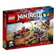 Конструктор Лего нинджаго - преследване на нинджи с мотори, LEGO NINJAGO, 70600