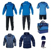 Set complet echipament fotbal Givova Albastru