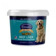 Stewart Pro-Treat Beef Liver Freeze-Dried Dog Treats, 21-oz tub