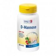 Longlife d-mannose 60 capsule 60cps integratore alimentare a base di d-mannosio