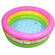 COMBO INTEX INFLATABLE KIDS BATH POOL WATER TUB - 2 FEET WITH INTEX AIR PUMP