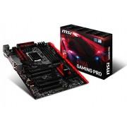 MSI B150A Gaming Pro Scheda Madre, Nero/Rosso