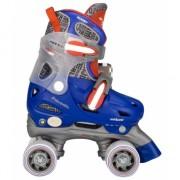 Blauwe skates voor kinderen maat 27-30