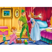 Clementoni Puzzle 27706 - Peter Pan: Peter & Wendy - 104 pezzi
