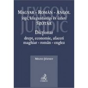 Dictionar drept, economie, afaceri maghiar-roman-englez.