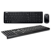 Kit tastatura + mouse Asus W3000 Chiclet fara fir negru USB