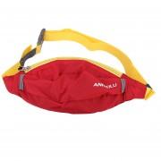 Nuevo Portátil ANMEILU Oblicua Roja Bolsa Deportes Al Aire Libre En La Cintura Cintura Pack Deportes Montañismo Senderismo Bolsa Bolsa De Viaje