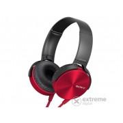 Căști Sony MDRXB450APR.CE7 EXTRA BASS, roșu