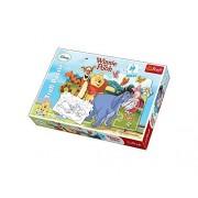 Trefl Puzzle Winnie The Pooh Adventures Disney Winnie The Pooh (30 Pieces) by Disney