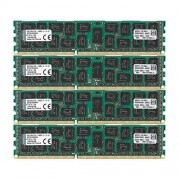Kingston Technology Kingston KVR13LR9D4K4/64 RAM 64Go 1333MHz DDR3L ECC Reg CL9 DIMM Kit (4x16Go) 1.35V, 240-pin