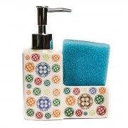 Dispenser detergent de vase si burete, design modern