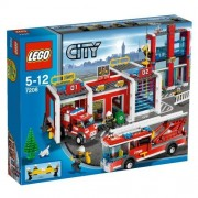 Lego- City 7208 Fire Station by LEGO