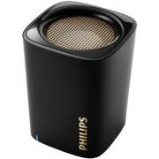 Boxa Portabila Philips BT100B/00, Bluetooth, Microfon, Handsfree (Negru)