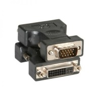 Adaptor VGA (15 pini) - DVI-I dual link (24+5 pini) T/M