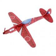 Avión Planeador 3D Modelismo, Modelo FOCKE-WULF TA 152H, Colección Clásicos del Aire