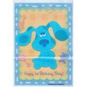 Blues Clues 1st Birthday Favor Bags (8ct)