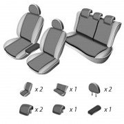Set huse scaun Volkswagen Golf 6 2008 - 2012