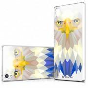 Clubcase Coque Crystal Xperia Z5 Premium Extra Fine Polygon Animals - Aigle