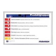 FRANKEN Weißwandtafel ECO, 2.000x1.200 mm, projektionsfähig (SC481220)