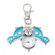 kulcstartó-óra v.kék lepkés