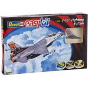 Revell - Maqueta EasyKit F-16 Fighting Falcon, escala 1:100 (06644)