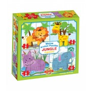 Puzzle pentru bebeluși Dohány Primul meu puzzle Junglă 500-2