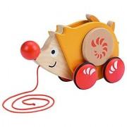 Hape - Walk-A-Long Hedgehog Wooden Pull Toy