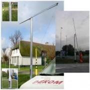 Cámara de mástil para televisores de 10 Meter F DEKOM, es el modelo siguiente a: 10 m