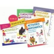 Set caiete gradinita 3-4 ani - Stefania Antonovici Rita-Gargarita si Greierasul Albastru