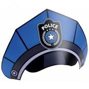 Kartonnen politie feesthoedjes