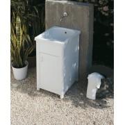 Lavatoio per esterno in Ceramica Corallo 45x51