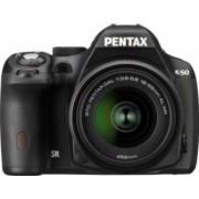 Aparat Foto DSLR Pentax K-50 DAL 18-55mm + 50-200mm WR Black