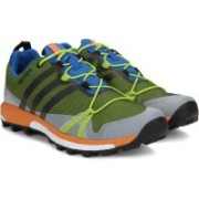 Adidas TERREX AGRAVIC GTX Outdoor Shoes(Black, Blue, Green)