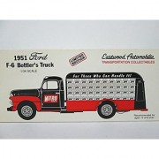 1993 First Gear Eastwood Automobilia Transportation Collectables 1951 Ford F-6 Bottler's Truck
