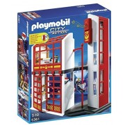 Playmobil - 5361 - Jeu De Construction - Caserne Des Pompiers